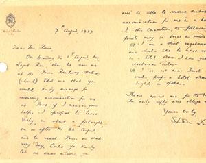 9-08-1927-Letter-to-Ranaji-mentioning-Lala-Lajpat-Rai