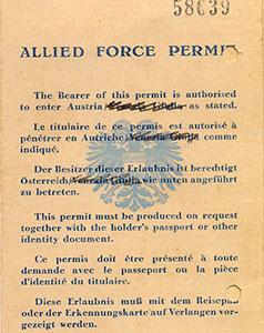 Allied-Force-Permit-given-to-Ranaji-for-enter-Austria-1