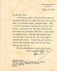 Daughter-of-Sarojini-Naidu-replying-to-Ranaji-for-his-condolence-letter